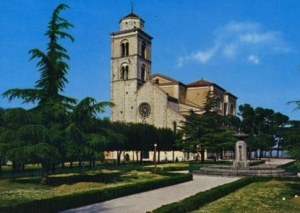 The cathedral of Fermo. View from the Girfalco square