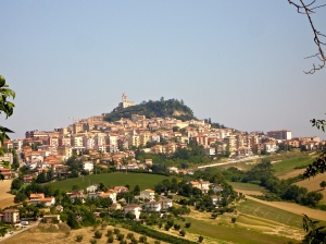 The city of Fermo