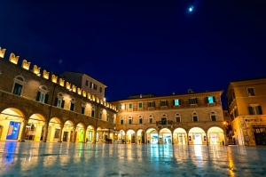 """People's Square"" in Ascoli Piceno"