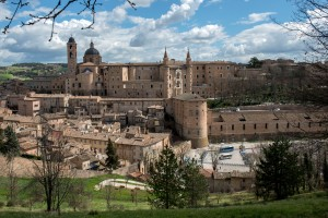 The city of Urbino