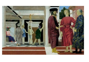 """The Flagellation"" by Piero della Francesca, tem-pera on panel, XV century, Galleria Nazionale delle Marche, Urbino  Photo Credit: Elio and Stefano Ciol"